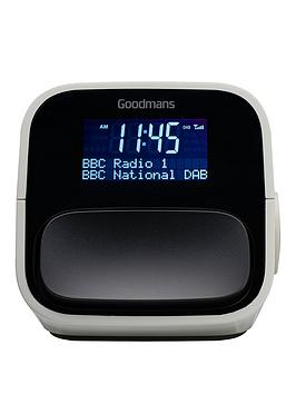 Goodmans Nod Dab And Fm Clock Radio  Concrete