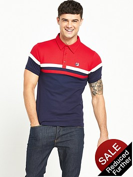 fila-contrast-fitted-polo