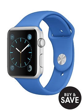 apple-watch-sport-42mm-silver-aluminium-case-with-royal-blue-sport-band