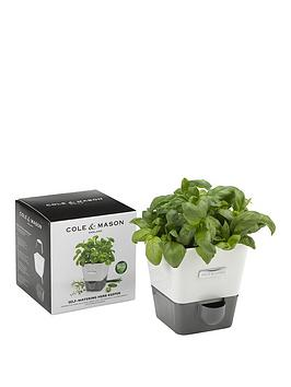 Cole & Mason Cole &Amp Mason Self  Watering Herb Keeper Single