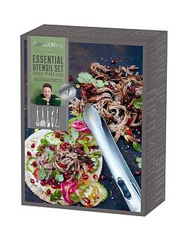 Jamie Oliver Jamie Oliver 5 Piece Stainless Steel Kitchen UtensilTool Set
