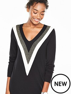 v-by-very-v-neck-colour-block-tunic