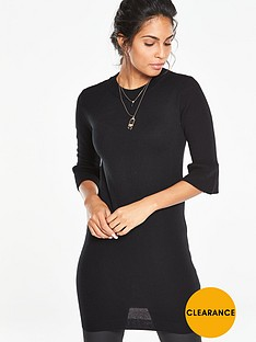 v-by-very-fluted-sleeve-tunic