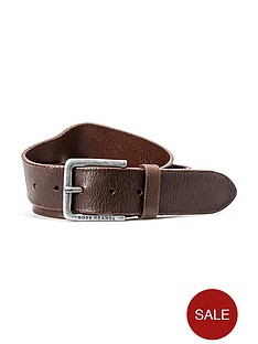 boss-orange-leather-belt-brown