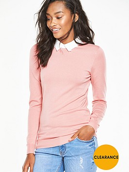 v-by-very-lace-collar-jumper