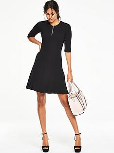 v-by-very-skinny-fit-and-flare-ribbed-dress