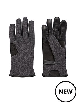 ugg-australia-ugg-smart-glove-with-leather-trim