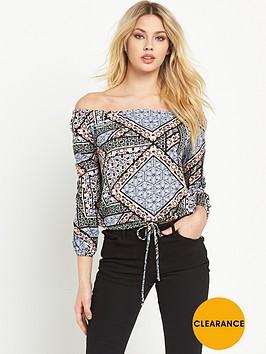 v-by-very-tie-waist-long-sleeve-bardotnbsptop