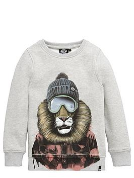 animal-lion-crew-sweat