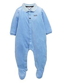 boss-baby-boys-velour-sleepsuitnbspwith-gift-box