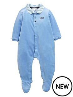 boss-velour-sleepsuit-gift-set