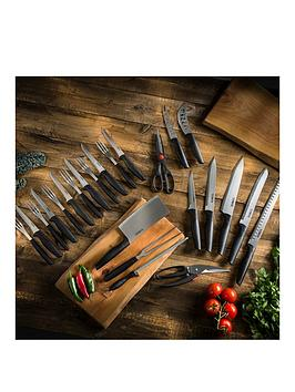 Tower Essentials 24Piece Stainless Steel Blade Knife Set