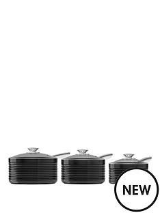 tower-linear-3-piece-ceramic-coated-pan-set-black
