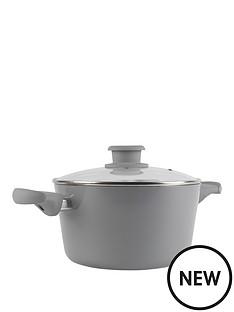 tower-taper-24cm-ceramic-coated-casserole-grey
