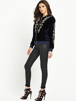 little-white-lies-airy-bomber-jacket-dark-blue