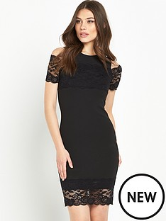 river-island-lace-cold-shoulder-bodycon-dress