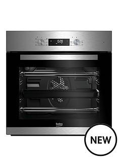 beko-bie22300xd-60cm-built-in-electric-single-oven-stainless-steel