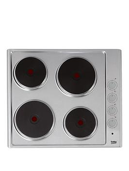 beko-hize64101x-60cm-built-in-sealed-plate-hob-with-optional-connection-stainless-steel