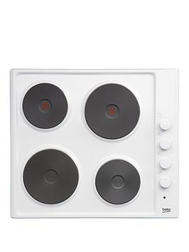 beko-hize64101w-60cm-built-in-sealed-plate-hob-with-optional-connection-white