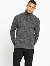 Harrow Regatta Henley Knitted Jumper
