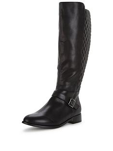 so-fabulous-esme-quilted-knee-high-flat-boot-extra-wide-fit