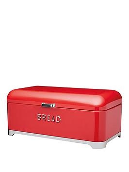 Lovello Bread Bin In Scarlet Red