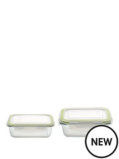 berghoff-set-of-2-studio-glass-rectangular-small-amp-medium-food-containers
