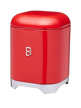 Lovello Biscuit Tin In Scarlet Red