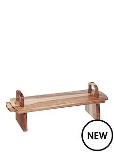 master-class-master-class-artesagrave-acacia-wood-antipasti-platform-platter-medium-37x12x13cm