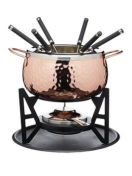 kitchencraft-artesagrave-rose-gold-finish-fondue-set