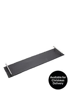 masterclass-artesagrave-slate-serving-platter-with-handles-60cmx15cm