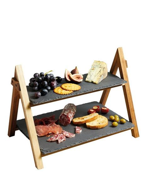 masterclass-artesagrave-two-tier-serving-stand-40x30x25cm