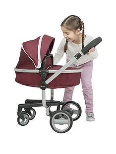 silver-cross-dolls-surf-pram-aubergine