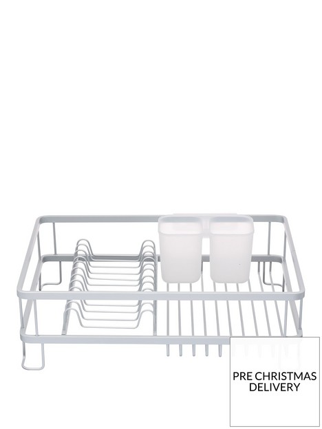 masterclass-anti-rust-aluminium-dish-drainer