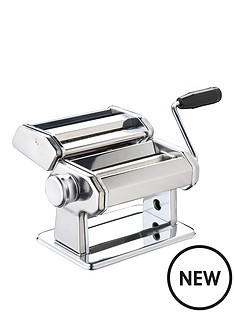 world-of-flavours-world-of-flavours-italian-deluxe-double-cutter-pasta-machine