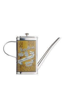 world-of-flavours-world-of-flavours-italian-stainless-steel-oil-can-drizzler-500ml