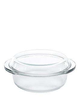 Berghoff Studio Glass Covered Casserole Dish 24X21X7Cm