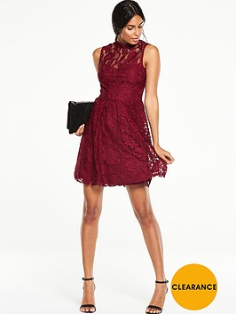 v-by-very-high-neck-sleeveless-lace-dressnbsp