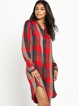 levis-levis-ls-check-shirt-dress