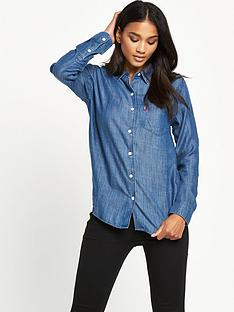 levis-levis-1pocket-denim-shirt