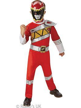 Power Rangers Red Deluxe Power Ranger  Child Costume
