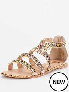 river-island-storm-embellished-flat-sandal