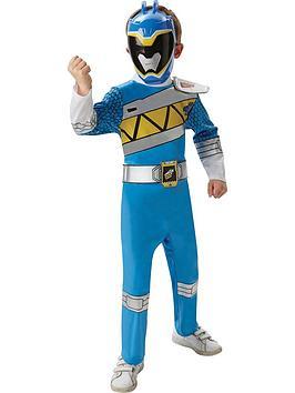 Power Rangers Blue Deluxe Power Ranger  Child Costume
