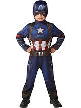 Marvel Captain America Classic - Childs Costume