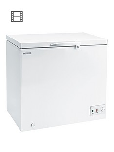 hoover-cfh157awk-146-litre-chest-freezer-white
