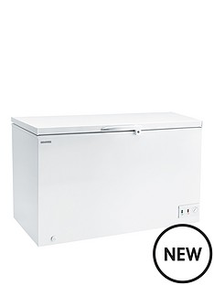 hoover-cfh382awk-412-litre-chest-freezer-white
