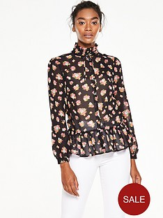 v-by-very-peplum-high-neck-printed-blousenbsp