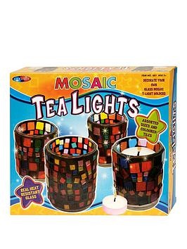 decorate-mosaic-tea-lights