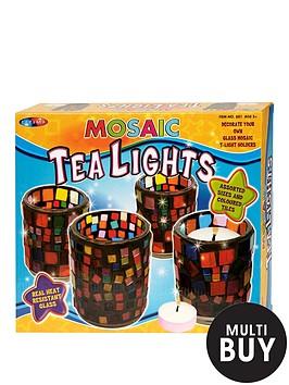 decorate-mosaic-tea-lights