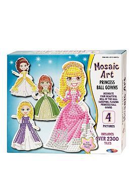 mosaic-art-princess-ball-gowns